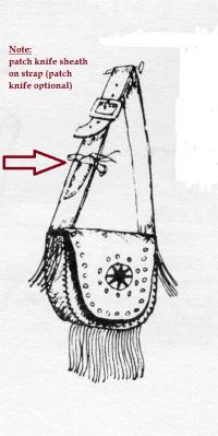 A29 Sioux Hunting Pouch