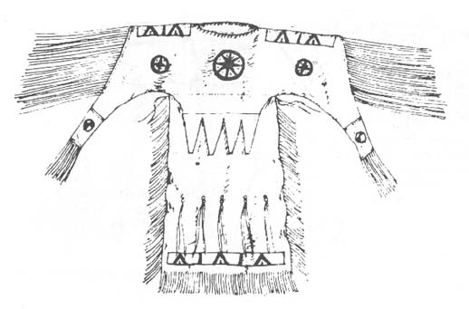 A-16 Kiowa Buckskin Dress