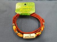 Bamboo Bead with Porcelain Choker Necklace-I Love Appaloosas