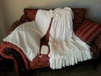 Christening or Dedication Dress, Slip and Bonnet