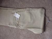 Classic Old West Styles Pants- Tannish Green Khaki