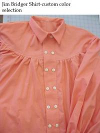 Jim Bridger- Double Row Button Shirt with Yoke