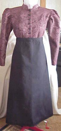 Basic Black Cotton Driving Apron