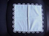 White Tatted Hankie 6