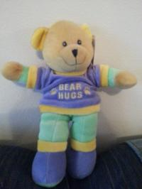 Washable Baby Toy Bear