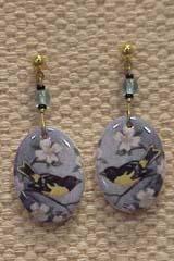 Oriole Porcelain Earrings
